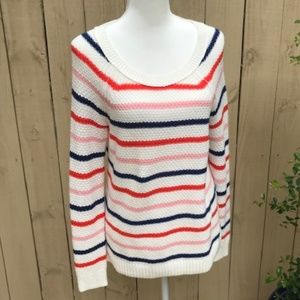 Old Navy Multi Stripe Sweater